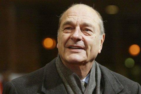 Помер колишній президент Франції Жак Ширак