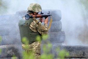 Сепаратисти обстрілюють позиції сил АТО в Пісках