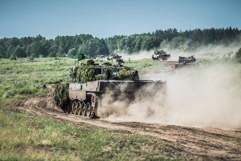 В Польше начались крупнейшие в этом году военные учения