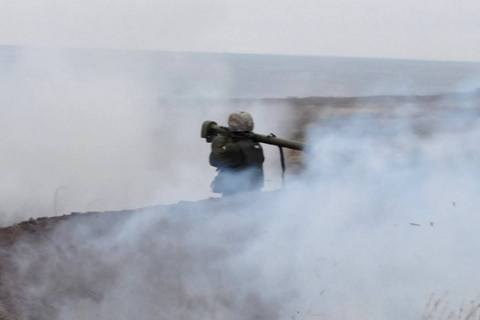 Штаб АТО повідомив про дві бойові сутички на Донбасі