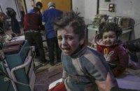 За неделю в Восточной Гуте погибли более 500 мирных жителей, из них 123 ребенка