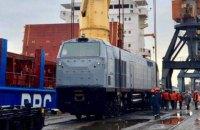 """""""Укрзализныця"""" получила последние пять локомотивов по контракту с GE"""