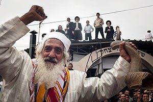 В Україну вже прибуло 16 тис. хасидів
