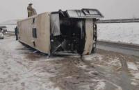 В Воронежской области перевернулася автобус с украинцами, пострадали 14 человек