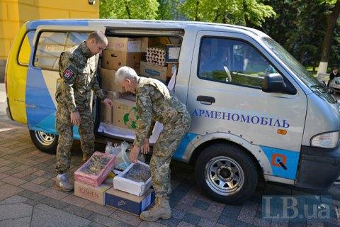 Генштаб хоче ввести акредитацію волонтерів на Донбасі