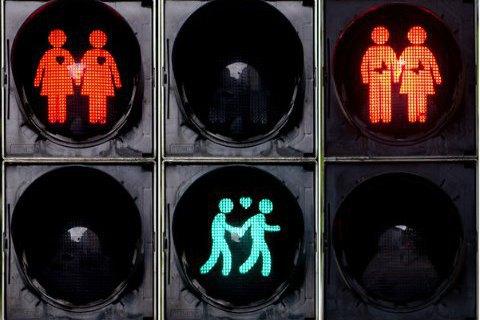 """У Мюнхені з'явилися """"толерантні"""" світлофори"""
