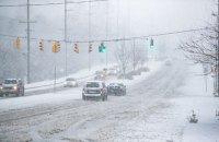 КМДА надала рекомендації водіям і пішоходам у зв'язку з ожеледицею і снігопадом