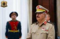 Лівійський генерал Хафтар закликав лівійців зі зброєю в руках протистояти турецьким військам