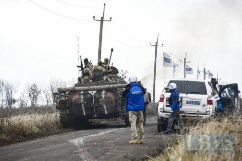 СЦКК: бойовики обстрілюють безпілотники ОБСЄ, щоб приховати військову техніку
