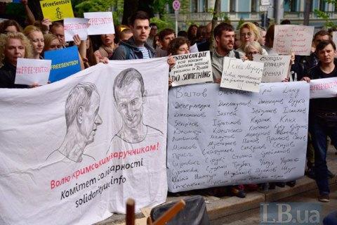 МЗС України вимагає від Росії звільнити Сенцова і Балуха