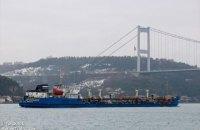 У Херсоні провели обшук на судні, що постачало паливо для Чорноморського флоту РФ