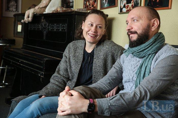 Олена Цибульська та Марко Галаневич