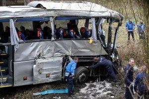 Украинцев в разбившемся в Бельгии автобусе не было
