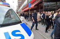 В Стокгольме неизвестный напал на полицейского