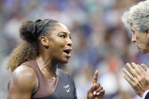 Серену Вільямз оштрафовано за хамську поведінку у фіналі US Open