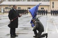 45-й полк Нацгвардии получил имя подполковника УГА Александра Красицкого