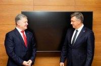 Петро Порошенко зустрівся з Андреєм Плєнковічем