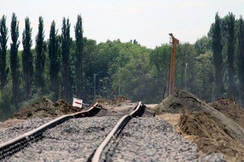 """Кабмин утвердил проект строительства железной дороги между Киевом и аэропортом """"Борисполь"""""""