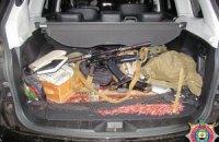 В Донецкой области задержали налетчиков с автоматами и гранатометами