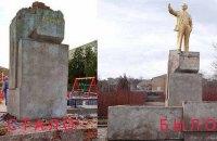 В Одеській області демонтували і відправили в підсобку один з останніх пам'ятників Леніну