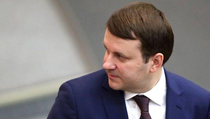 Министр экономического развития РФ Максим Орешкин