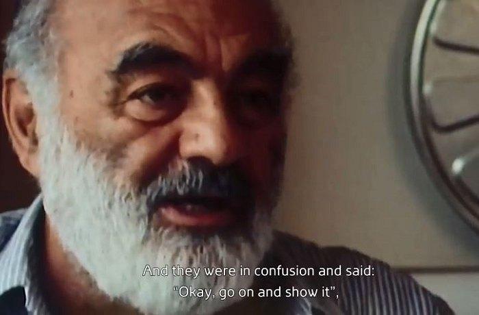 Кадр з фільму «Параджанов. Квиток у вічність»