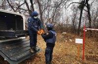 На Донбасі піротехніки знешкодили понад 700 боєприпасів