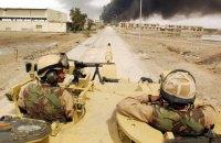 Дві ракети впали поблизу військової бази США в Іраку