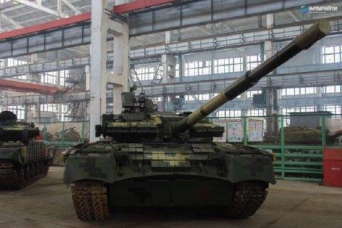 Харьковский бронетанковый завод показал модернизированный танк Т-80
