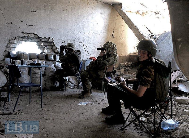 Бійці батальйону 'Донбас' у с.Широкине, червень 2015