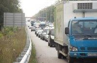 """""""Укравтодор"""" предупредил об угрозе срыва строительства развязок на Житомирской трассе"""