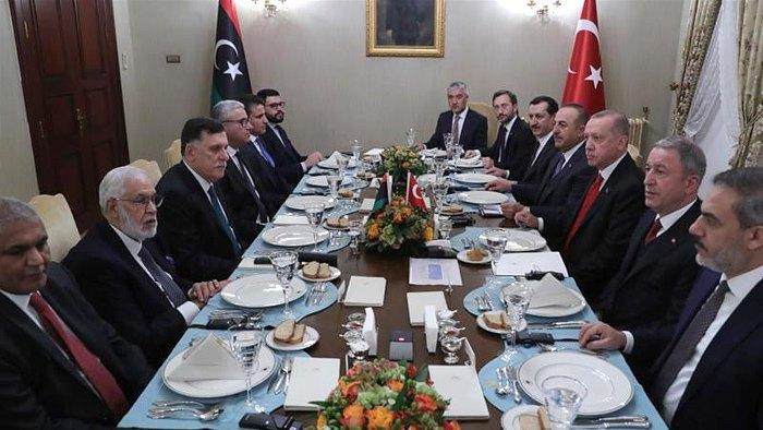 Встреча дегегаций в Стамбуле, 28 ноября 2019