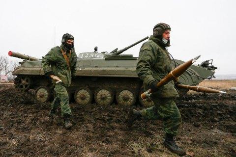 Оккупанты проводят на Донбассе масштабные мобилизационные учения с резервистами