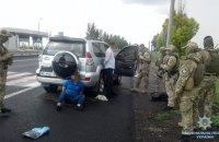 В Запорожской области полиция освободила похищенного заложника
