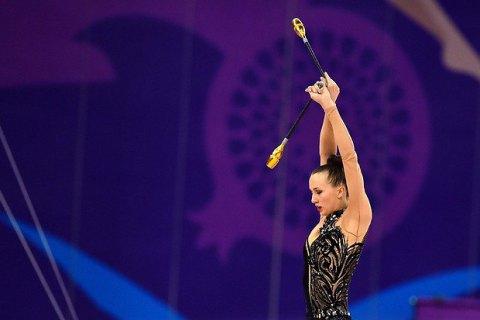 """Українські гімнастки на Євроіграх завоювали ще два """"срібла"""" і """"бронзу"""""""