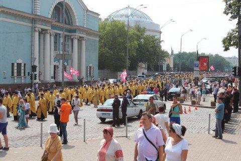 Поліція не зафіксувала порушень під час релігійних заходів у Києві