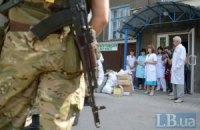 Боевики ЛНР обстреляли станцию скорой помощи вблизи Попасной
