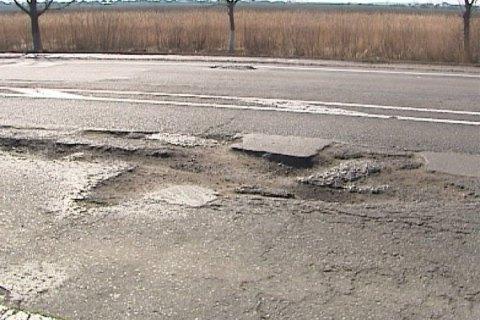 """""""Укравтодор"""" выполнил 50% плана по ямочному ремонту"""