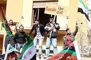 Біженці закидали камінням лівійське посольство в Йорданії