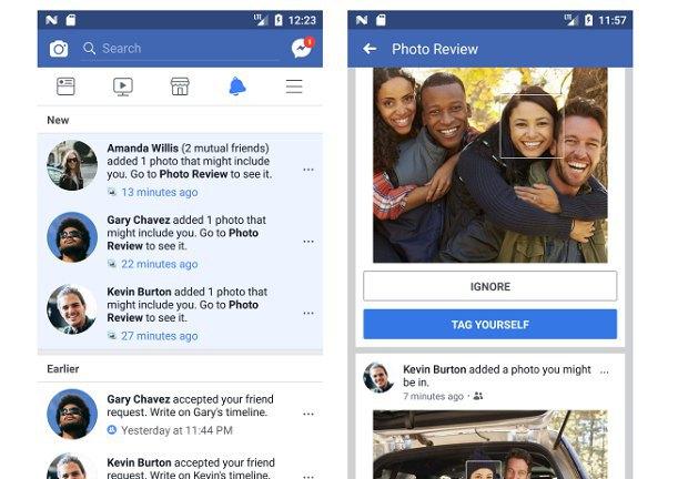ВFacebook появится функция распознавания лиц