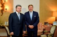Порошенко пригласил короля Нидерландов посетить Украину