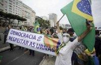 В Бразилии прошли массовые протесты против президента Жаира Болсонару