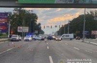 Майор полиции устроил ДТП на трассе возле Киева