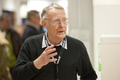 ВШвеции скончался основатель компании IKEA Ингвар Кампрад