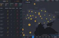 СНБО запустил карту распространения COVID-19 в Украине и мире