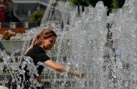 Температура повітря в Києві минулого тижня перевищила норму на 10 градусів