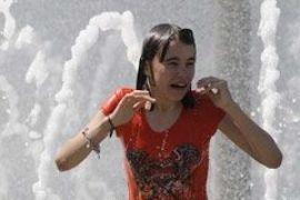 Украинцы страдают от жары