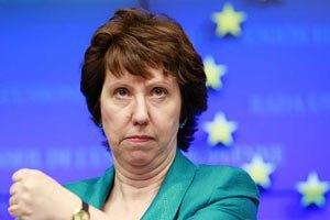 Эштон: ЕС призывает все стороны в Украине к конструктивному диалогу