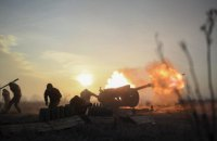 Оккупанты обстреляли Золотое-4 из тяжелой артиллерии