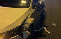 Автомобіль поліції збив насмерть пішохода в Києві